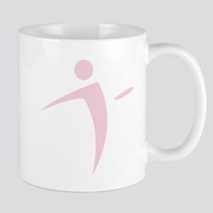 Nano Disc Golf BABY PINK Logo Mug