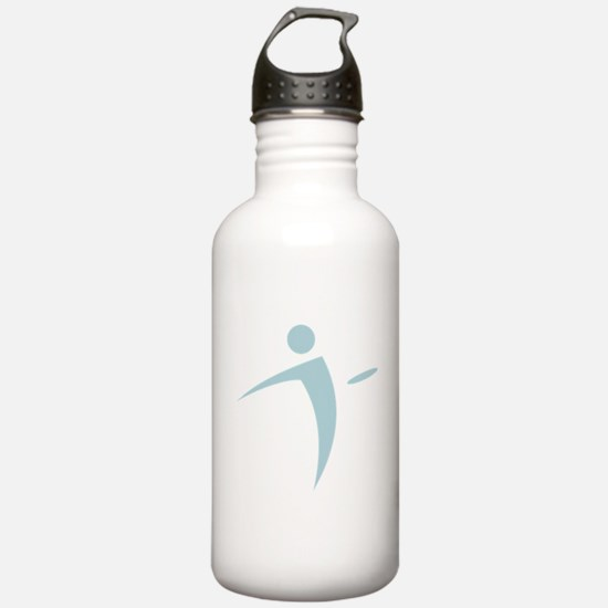 Nano Disc Golf BABY BLUE Logo Water Bottle