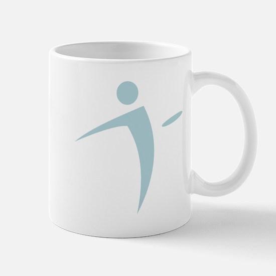 Nano Disc Golf BABY BLUE Logo Mug