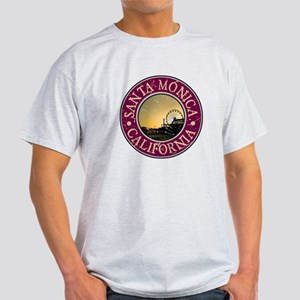 Santa Monica, California Light T-Shirt