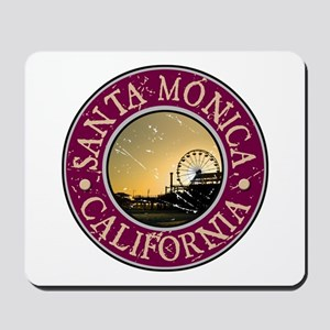 Santa Monica, California Mousepad