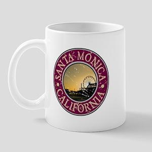 Santa Monica, California Mug