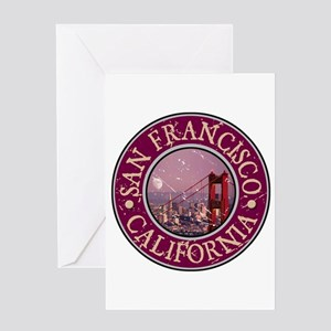 San Francisco, California Greeting Card