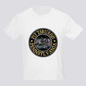 Pittsburgh, Pennsylvania Kids Light T-Shirt