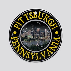 Pittsburgh, Pennsylvania Ornament (Round)