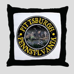 Pittsburgh, Pennsylvania Throw Pillow