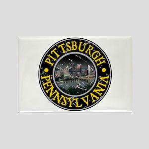 Pittsburgh, Pennsylvania Rectangle Magnet