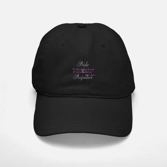 Jane Austen Pride Quotes Hats Baseball Hat
