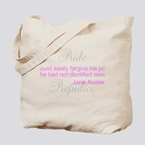 Jane Austen Pride Quotes Bags Tote Bag
