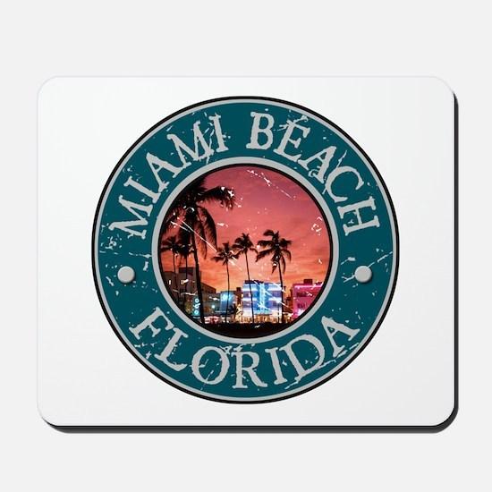 Miami Beach, Florida Mousepad