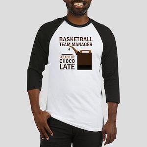 Basketball Team Manager Gift Baseball Jersey