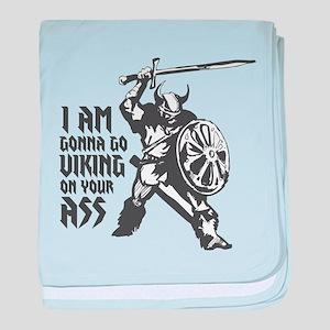 I'm gonna go Viking baby blanket