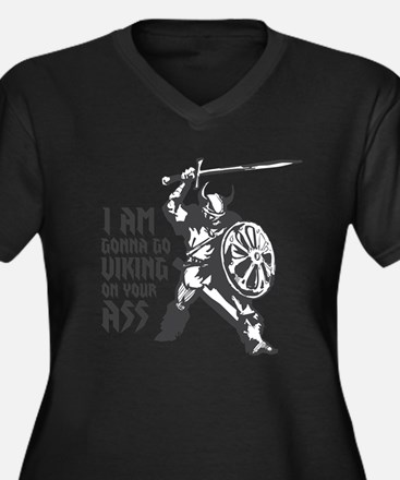 I'm gonna go Viking Women's Plus Size V-Neck Dark