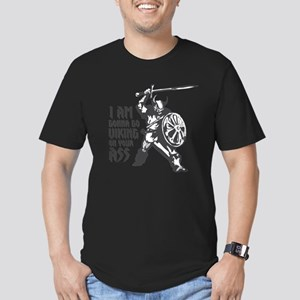 I'm gonna go Viking Men's Fitted T-Shirt (dark)
