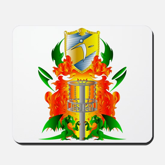 Color Disc Golf Coat of Arms Mousepad