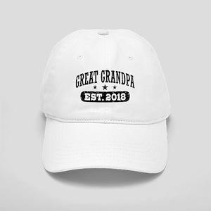Great Grandpa Est. 2018 Cap