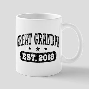 Great Grandpa Est. 2018 11 oz Ceramic Mug