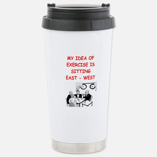 Duplicate bridge Stainless Steel Travel Mug