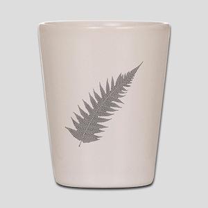 Silver Fern Aotearoa Shot Glass