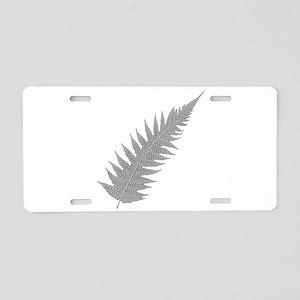 Silver Fern Aotearoa Aluminum License Plate