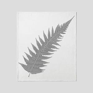 Silver Fern Aotearoa Throw Blanket