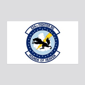 524th Fighter Squadron 38.5 x 24.5 Wall Peel