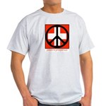 Peace flag Ash Grey T-Shirt