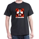 Peace flag Black T-Shirt