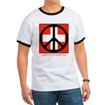 Peace flag Ringer T