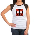 Peace flag Women's Cap Sleeve T-Shirt