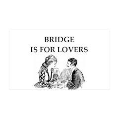 Duplicate bridge 38.5 x 24.5 Wall Peel