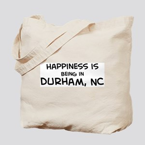 Happiness is Durham Tote Bag