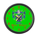 Clan Furey Large Wall Clock