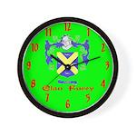 Clan Furey Wall Clock
