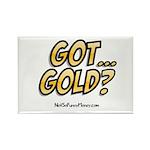 Got Gold 01 Rectangle Magnet