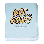 Got Gold 01 baby blanket