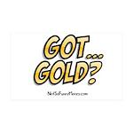 Got Gold 01 38.5 x 24.5 Wall Peel