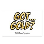 Got Gold 01 Postcards (Package of 8)