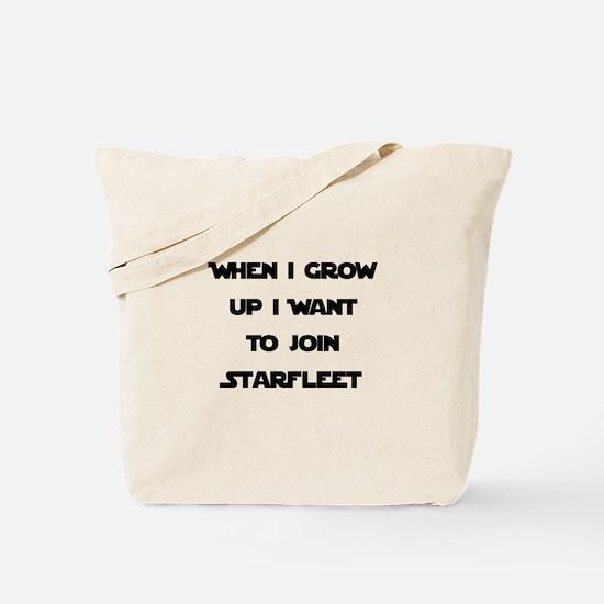 Join Starfleet Tote Bag