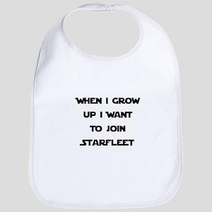 Join Starfleet Bib