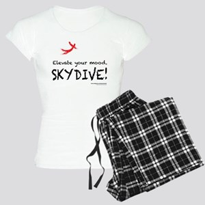 Elevate Your Mood Skydiver Women's Light Pajamas