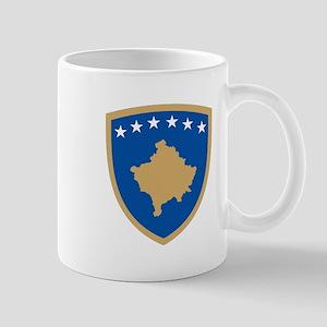 Kosovo Coat of Arms Mug