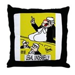 Prosecution Team's Throw Pillow