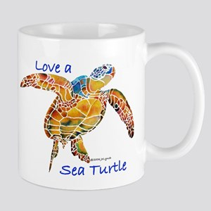 LOVE A Sea Turtle Mug