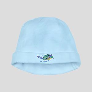 Beautiful Sea Turtle baby hat