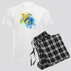 More Sea Turtles Men's Light Pajamas