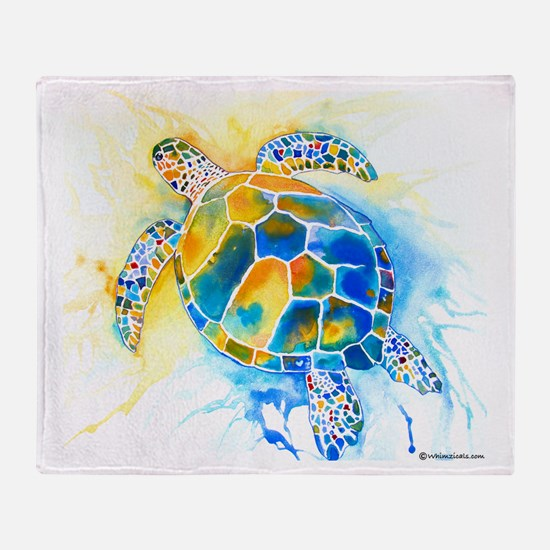 More Sea Turtles Throw Blanket
