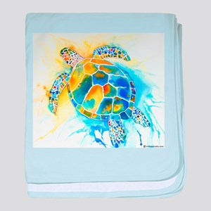 More Sea Turtles baby blanket