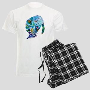 Manatees 1 Men's Light Pajamas