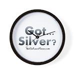 Got Silver 01 Wall Clock